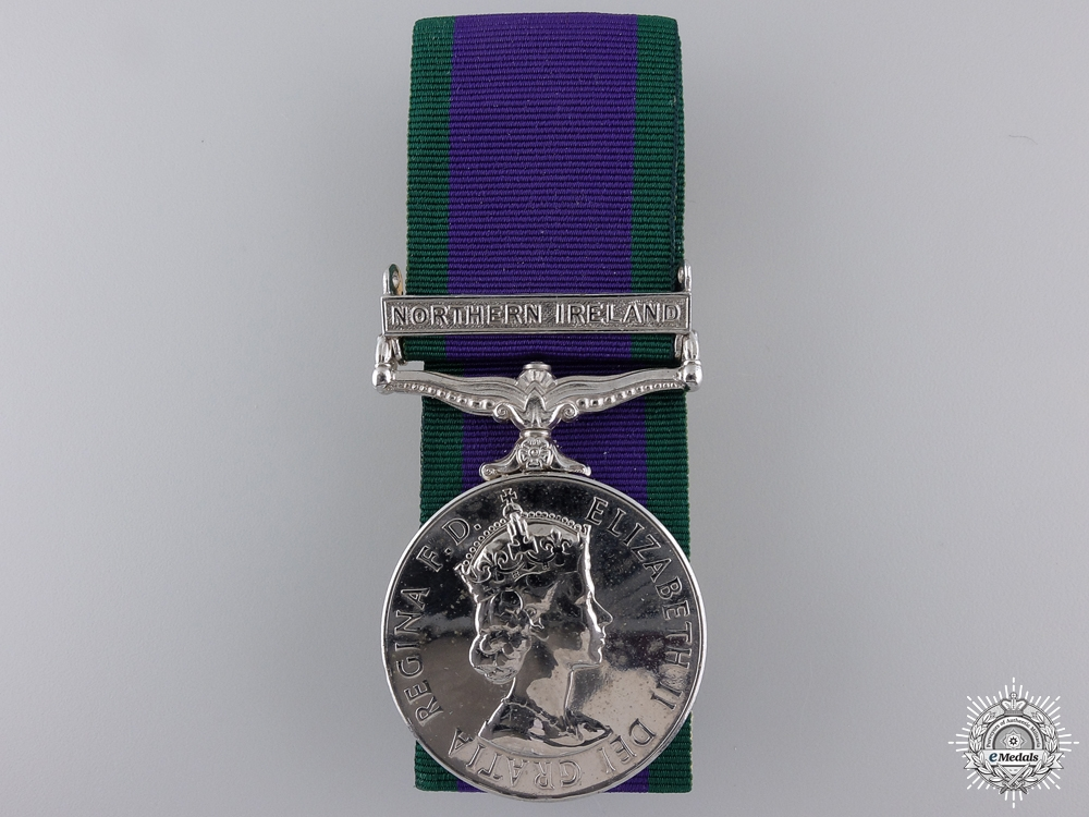 eMedals-A General Service Medal 1962-2007 to the Army Catering Corps