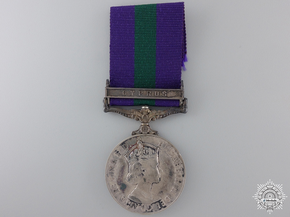 eMedals-A General Service Medal 1918- 1962 to the Royal Air Force