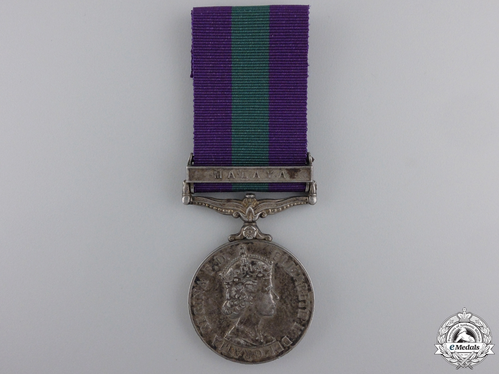 eMedals-A General Service Medal 1962-2007 for Malaya Service