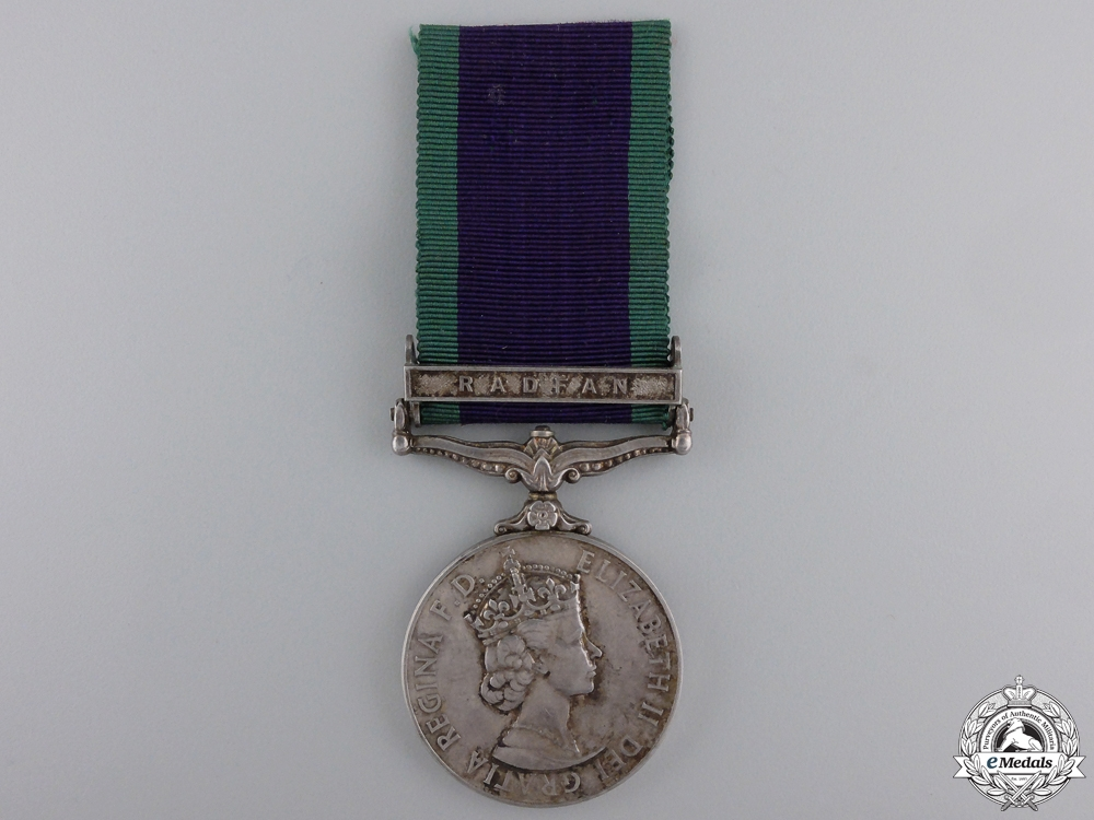 eMedals-A General Service Medal 1962-2007 to the Royal Air Force