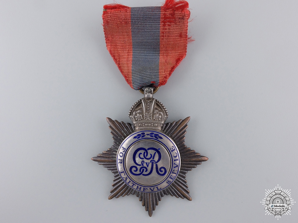eMedals-A George V British Imperial Service Medal to Charles Franklin