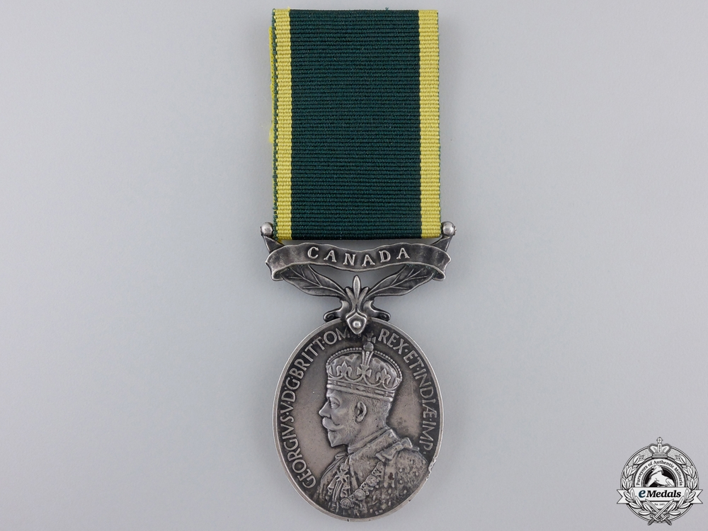 eMedals-A George V Effeciency Medal to the Kent Regiment