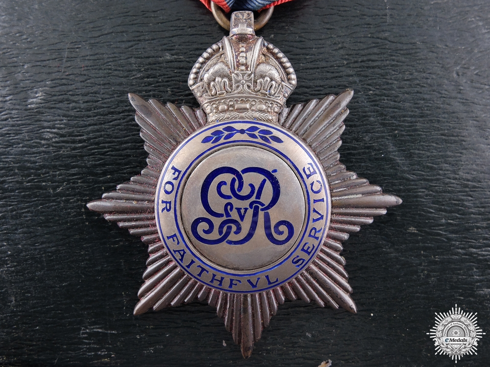 eMedals-A George V Imperial Service Medal to Richard Jones