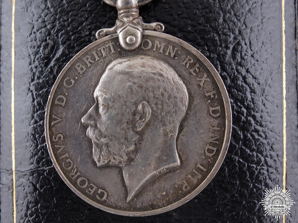 eMedals-A George V Imperial Service Medal to Moses Smith