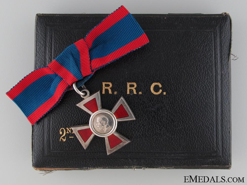 eMedals-A George V Royal Red Cross; 2nd Class