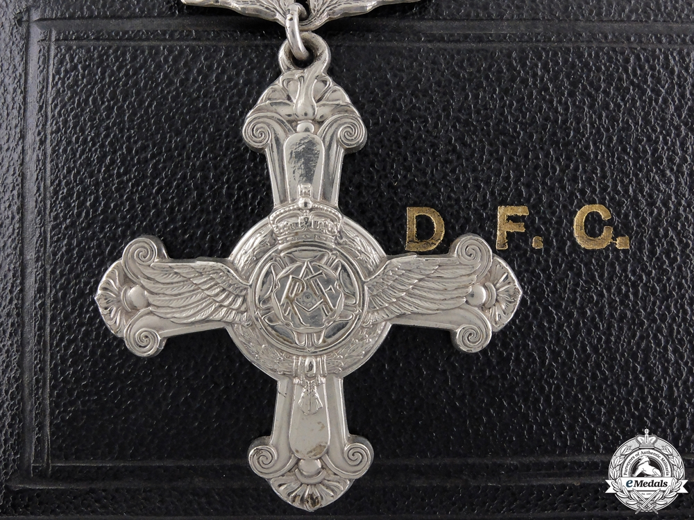 eMedals-A George VI Distinguished Flying Cross; 1944 Dated