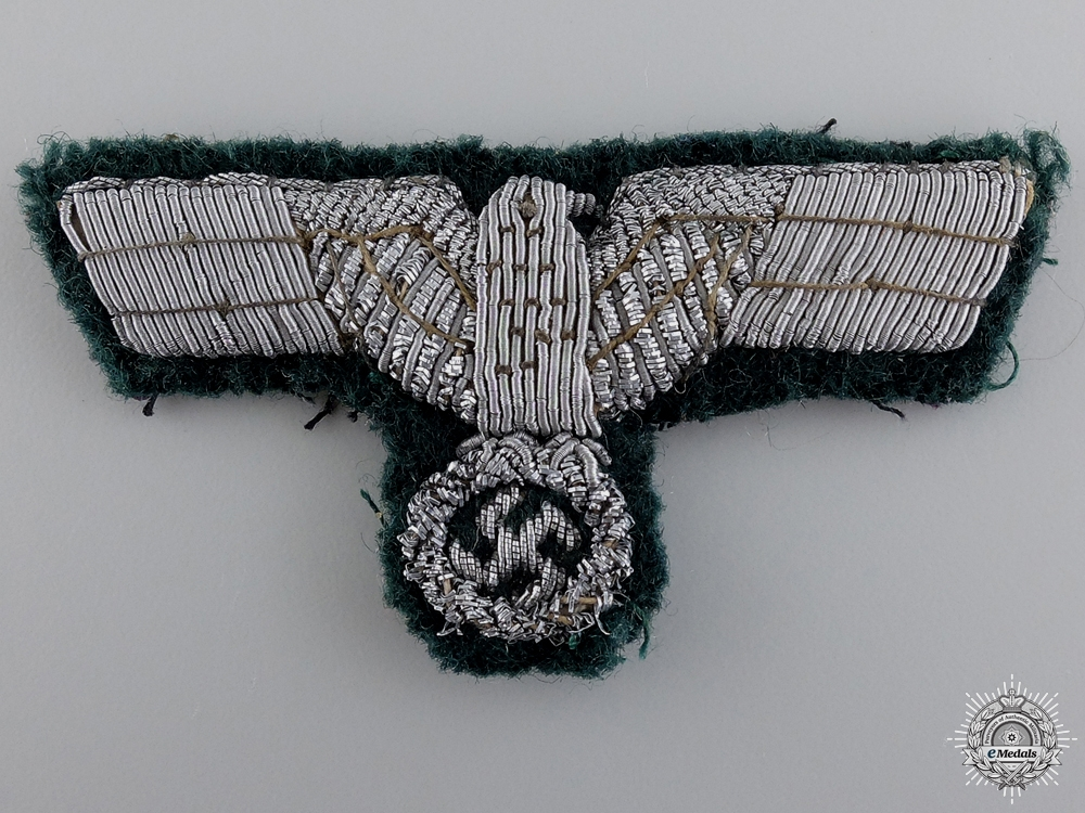 eMedals-A German Army Officer Visor Eagle Insignia