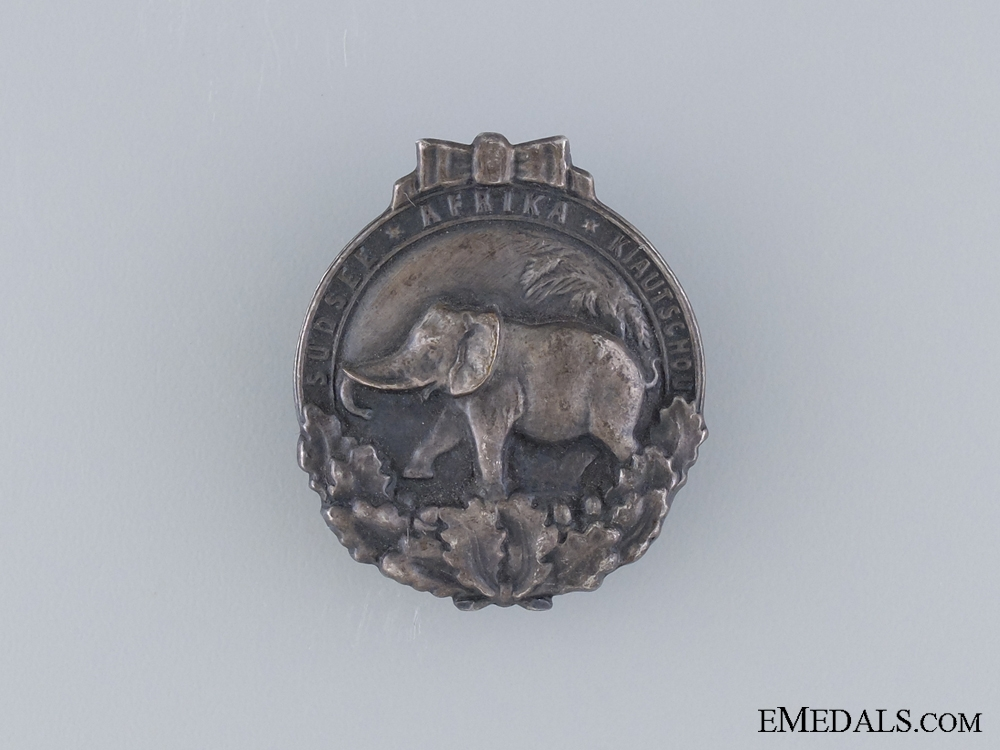 "eMedals-A German Colonial ""Elephant"" Badge"