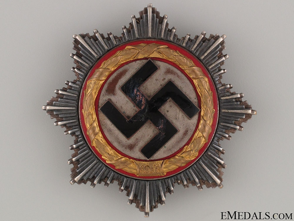 eMedals-A German Cross in Gold by Juncker