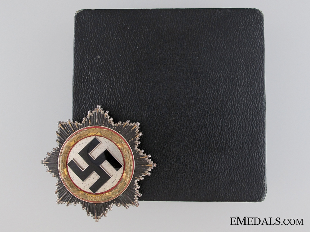 eMedals-A German Cross in Gold by Otto Klein