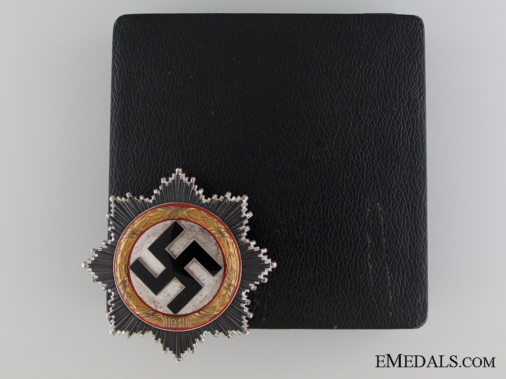 eMedals-A German Cross in Gold by Zimmermann with Case