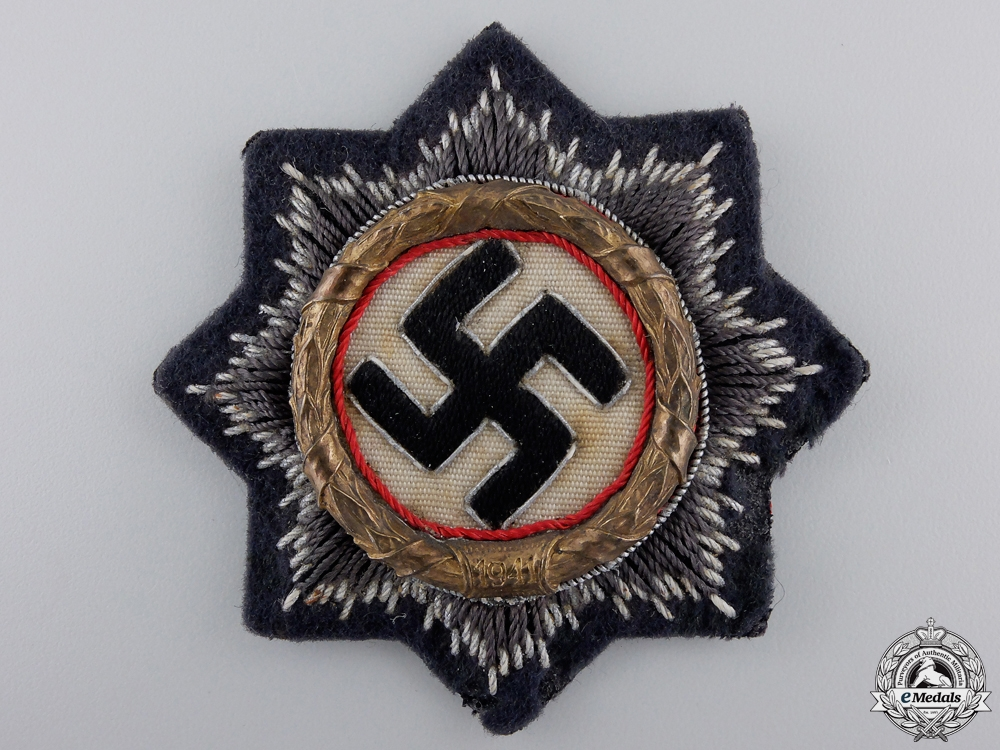 eMedals-A German Cross in Gold; Luftwaffe Issue