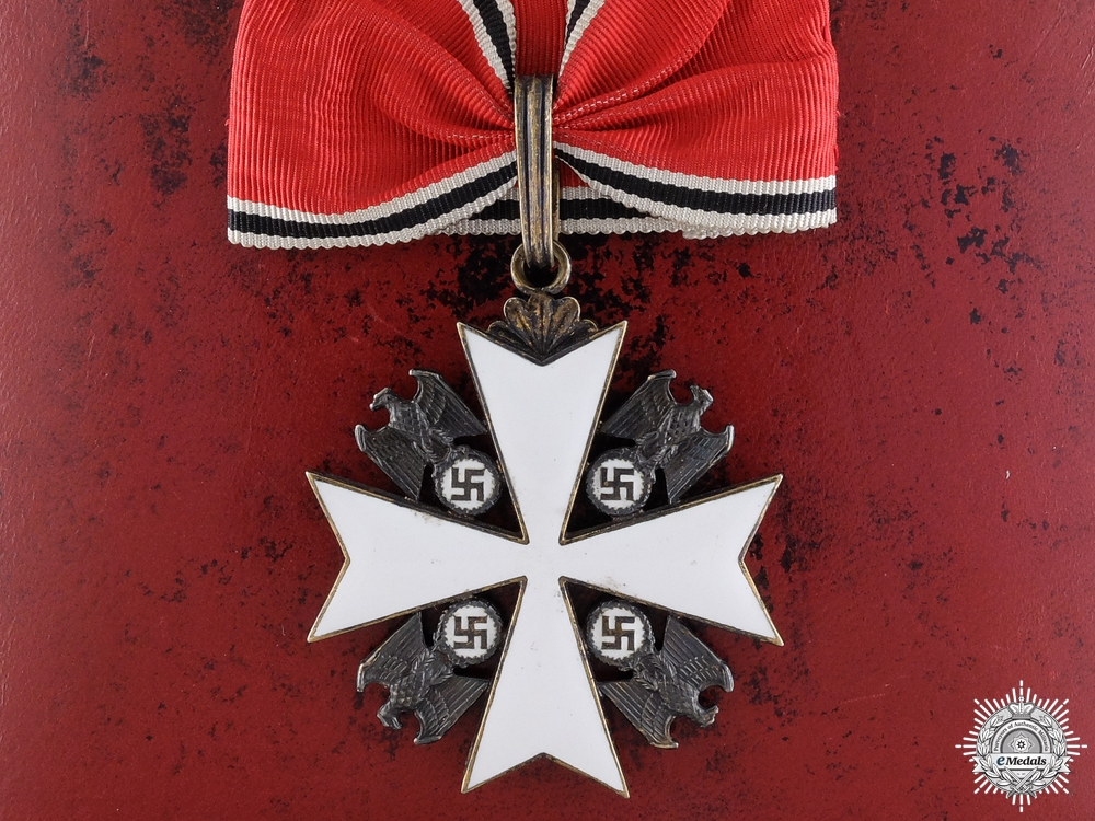 eMedals-A German Eagle Order; First Class by Godet, Berlin