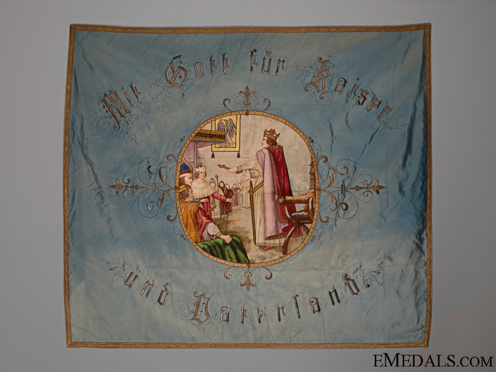 eMedals-A German Imperial Coronation Banner