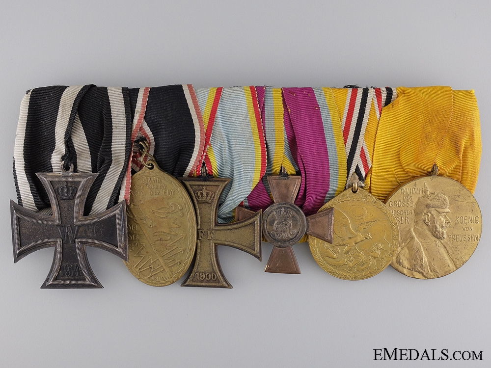 eMedals-A German Imperial & 1900 Boxer Rebellion Campaign Medal Bar