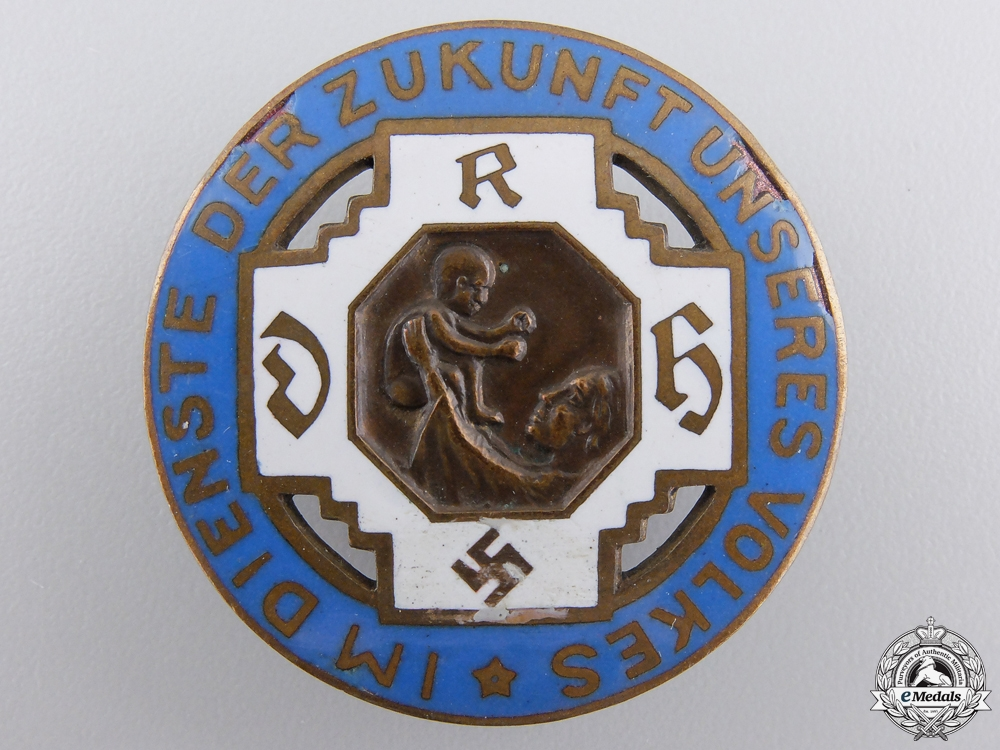 eMedals-A German State Midwife Association Badge