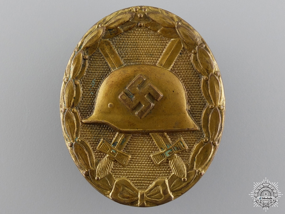 eMedals-A Gold Grade Wound Badge; Unmarked