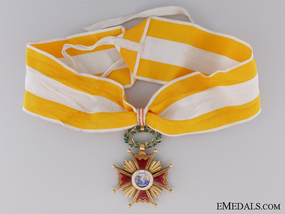 eMedals-A Gold Spanish Order of Isabella the Catholic; Commander