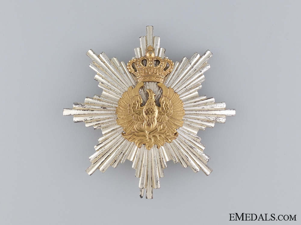 eMedals-A Greek Order of the Phoenix; Breast Star