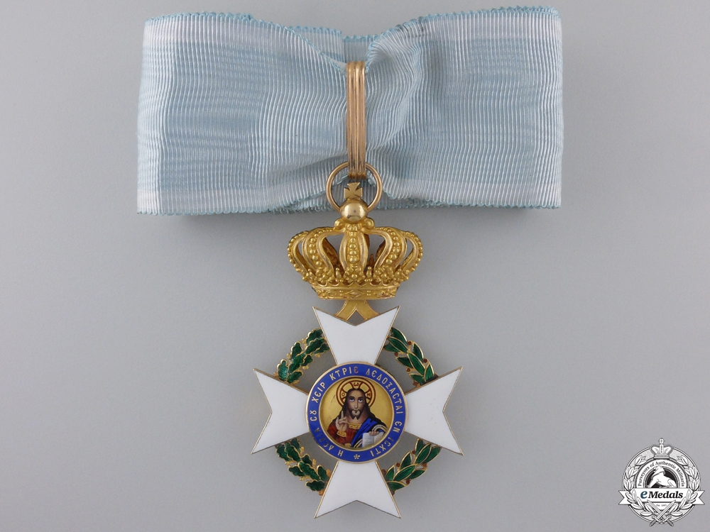 eMedals-A Greek Order of the Redeemer in Gold; Commander's