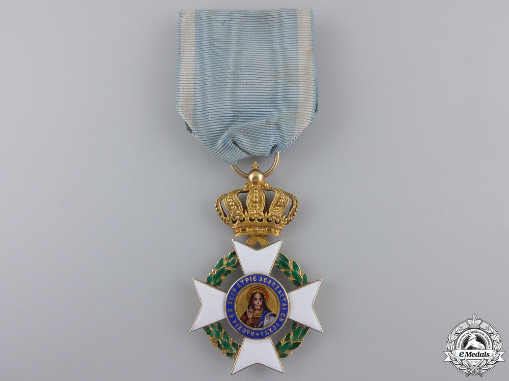 eMedals-A Greek Order of the Redeemer in Gold; Knight`s Cross