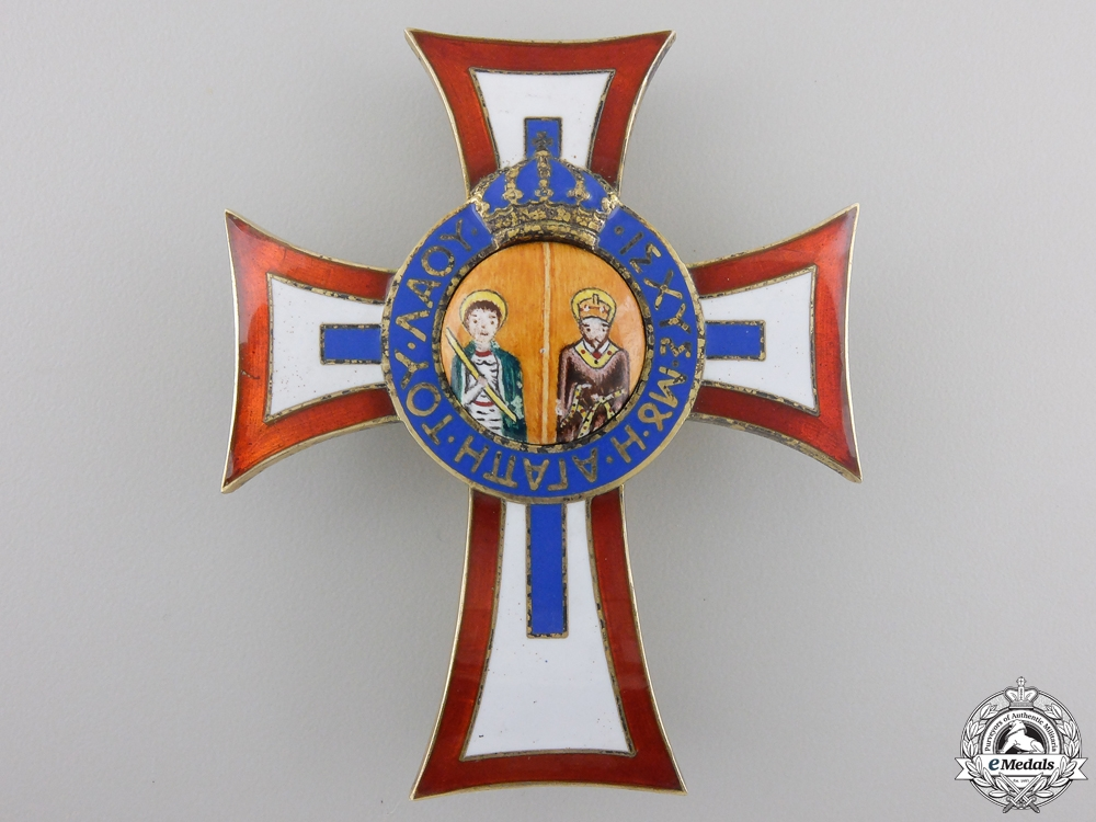 eMedals-A Greek Royal Family Order of St. George and St. Constantine by Spinks