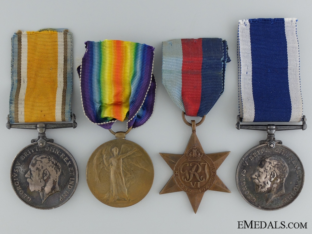 eMedals-A Group to HMS Oxley and One of the First Casualties of WWII