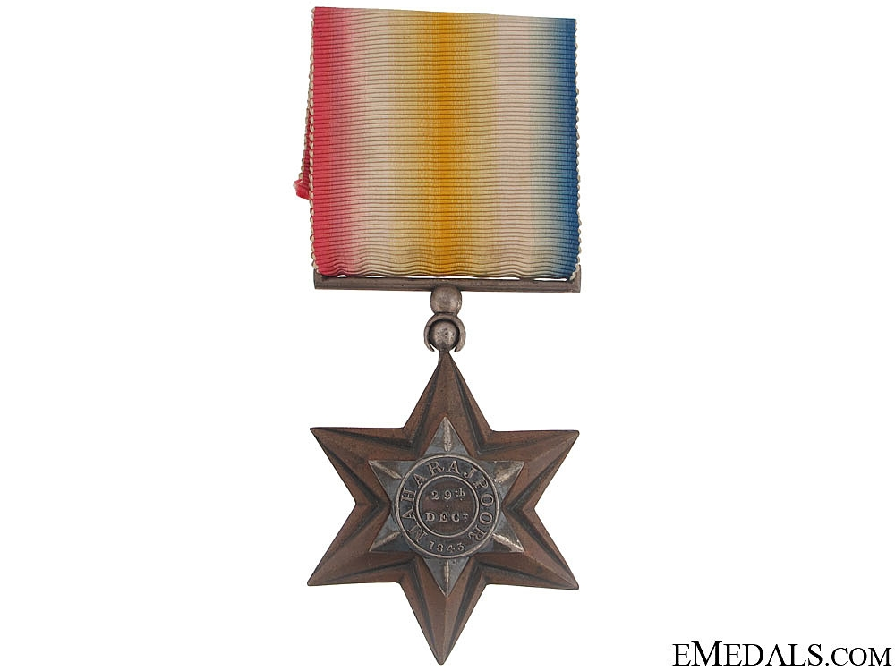 eMedals-A Gwalior Star to the 16th Lancers