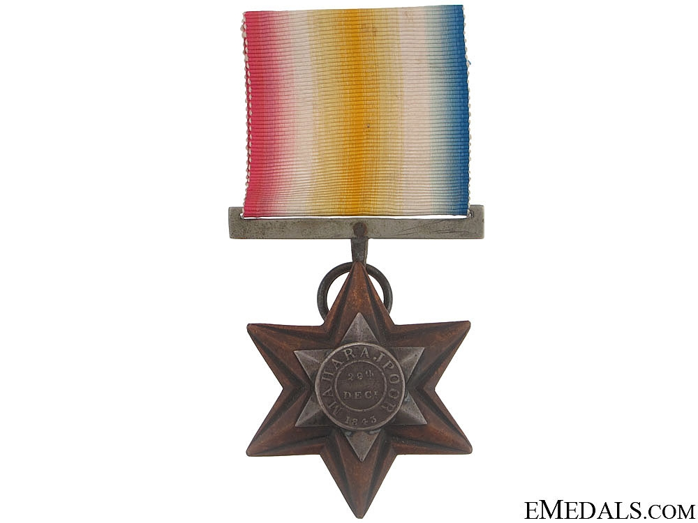 eMedals-A Gwalior Star to the 39th Regiment