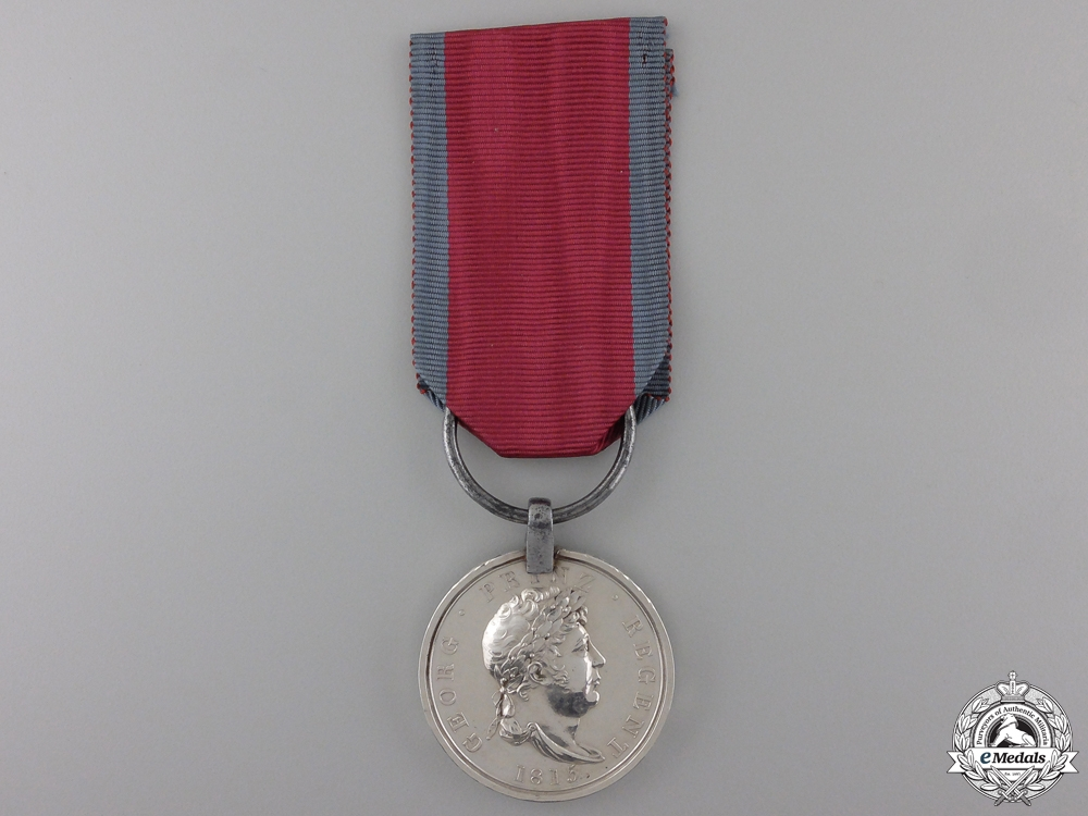 eMedals-A Hanoverian Medal for Waterloo 1815 to the Battalion Hoya
