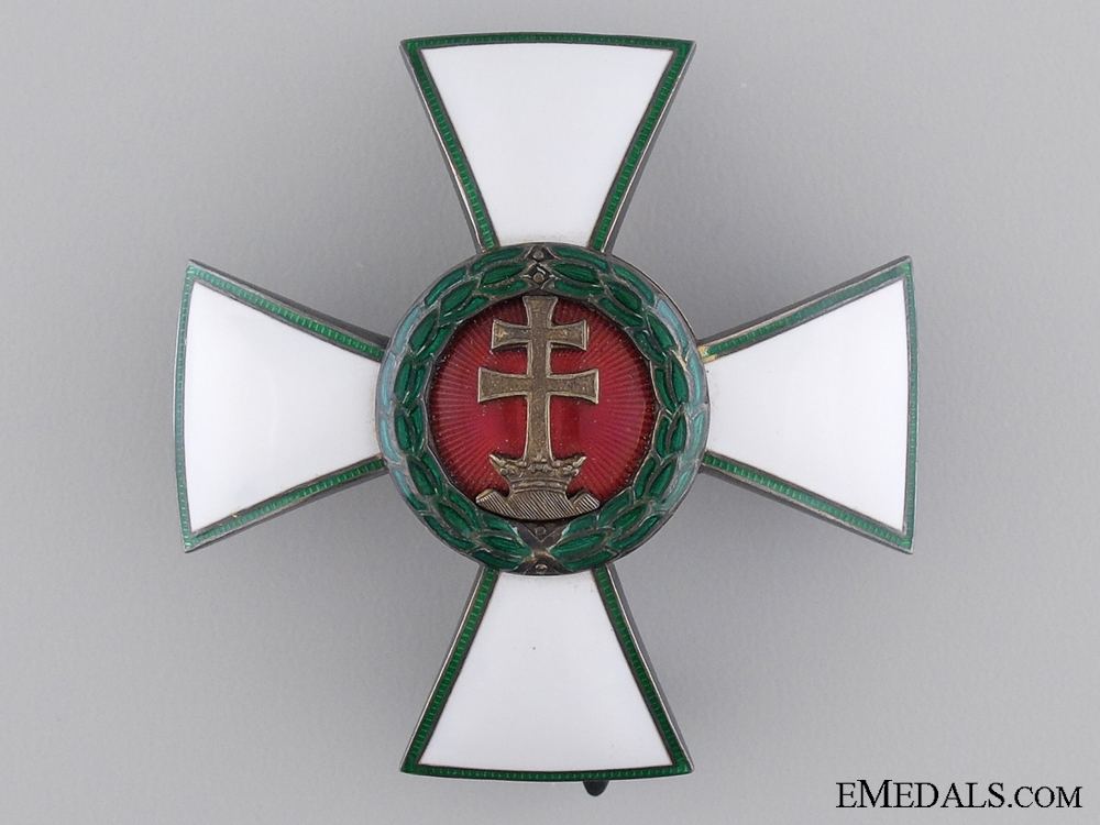 eMedals-A Hungarian Order of Merit; Officer's Cross