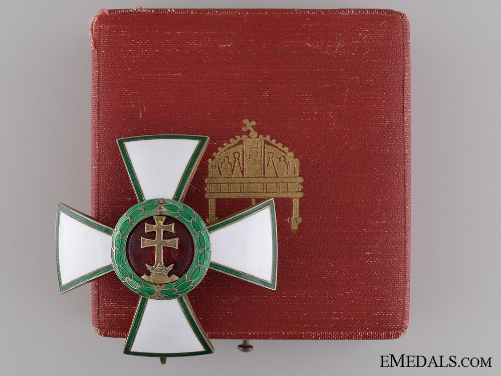 """eMedals-A Hungarian Order of Merit; Officer""""¢¯s Cross"""