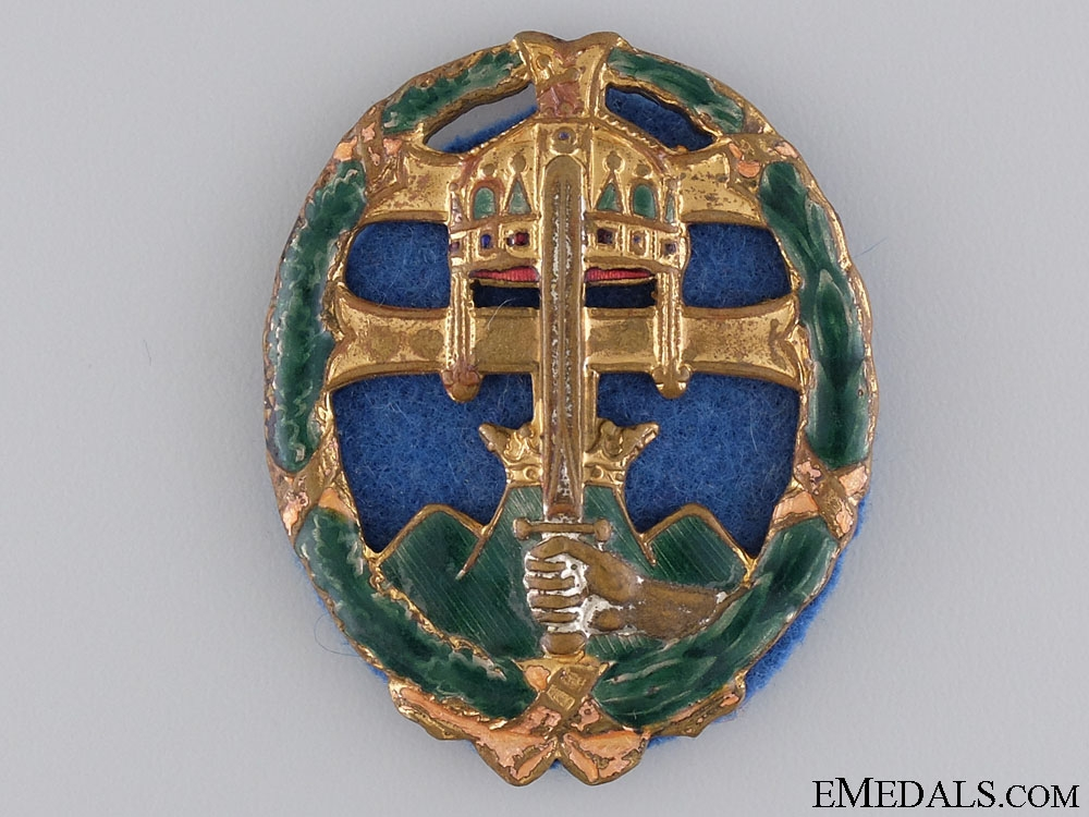 eMedals-A Hungarian WWII Period Officers Combat Badge