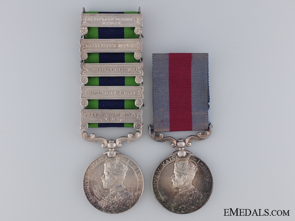 eMedals-A Indian Distinguished Service Medal Pair to the 109th Infantry