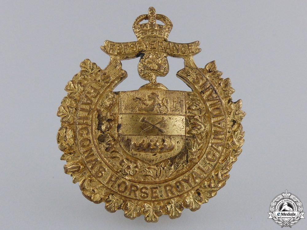 eMedals-A Inter-war Lord Strathcona's Horse Royal Canadians