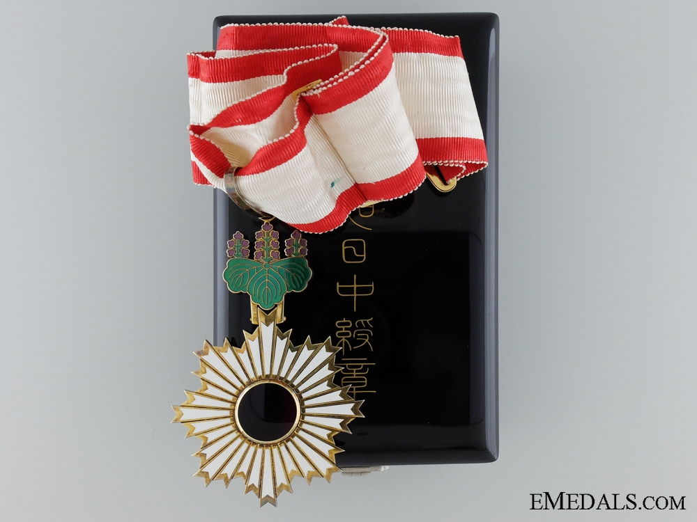 eMedals-A Japanese Order of the Rising Sun; Third Class; Cased