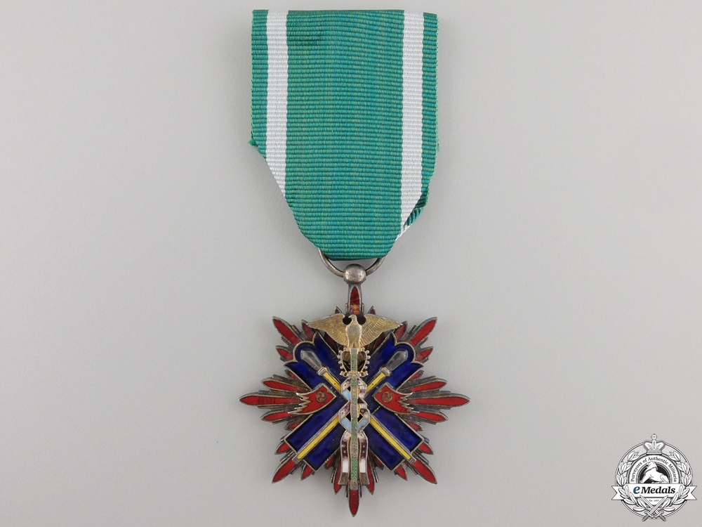 eMedals-A Japanese Order of the Kite; Fifth Class