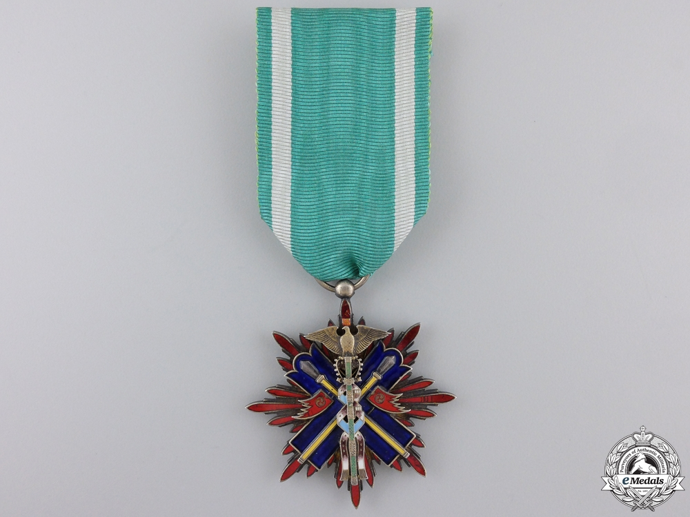 eMedals-A Japanese Order of the Golden Kite; Fourth Class
