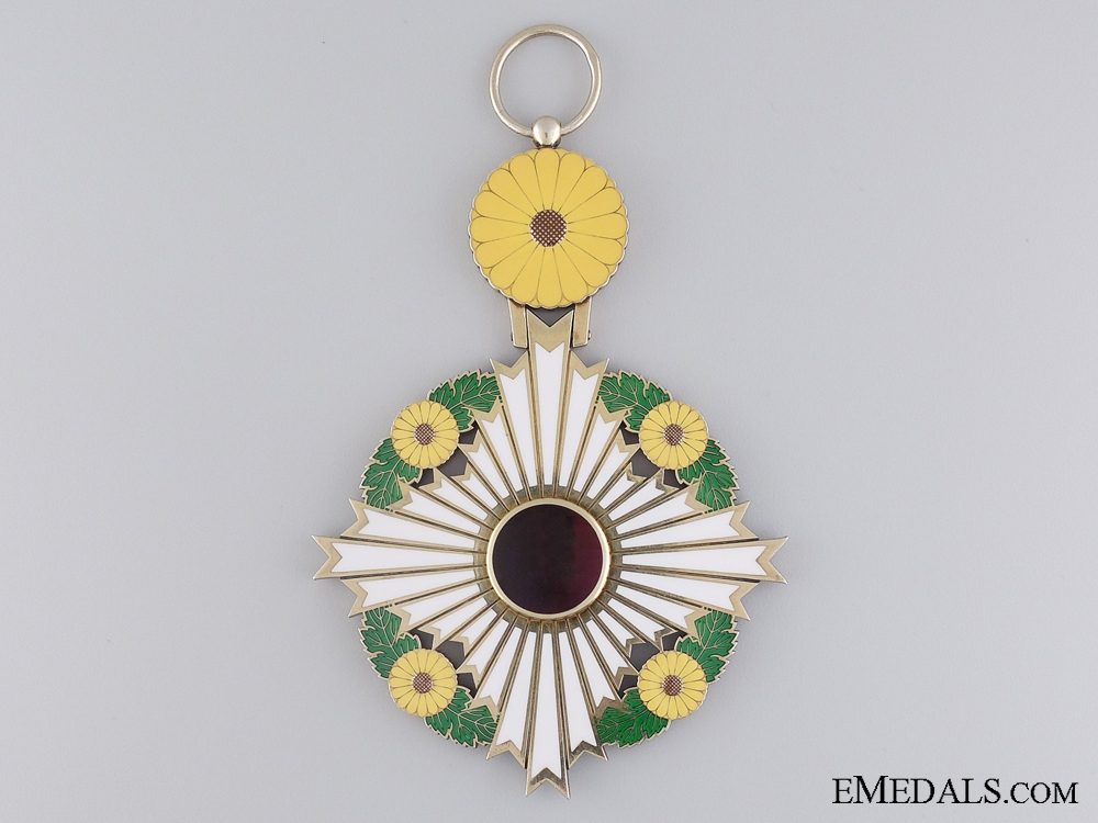 eMedals-The Supreme Order of the Chrysanthemum; Grand Cordon