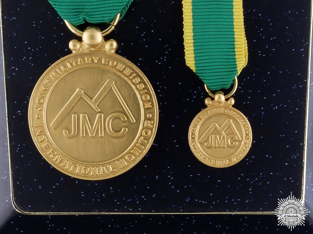 eMedals-A Joint Military Commission Monitor Medal for the Nuba Mountains in Sudan