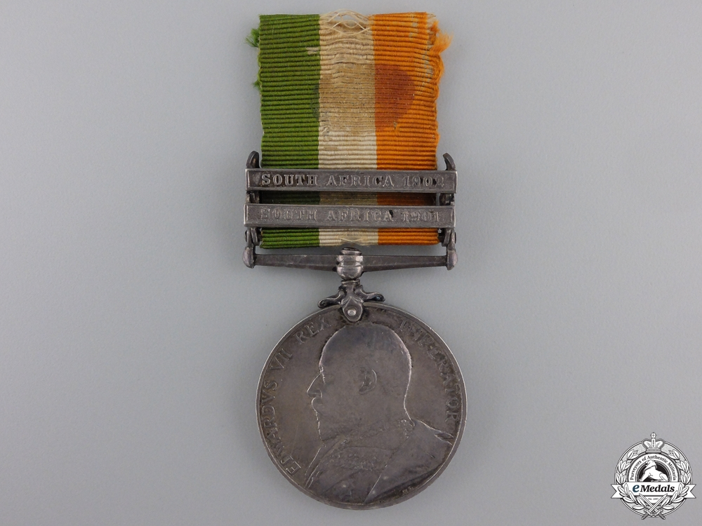 eMedals-A King's South Africa Medal to the Royal Sussex Regiment