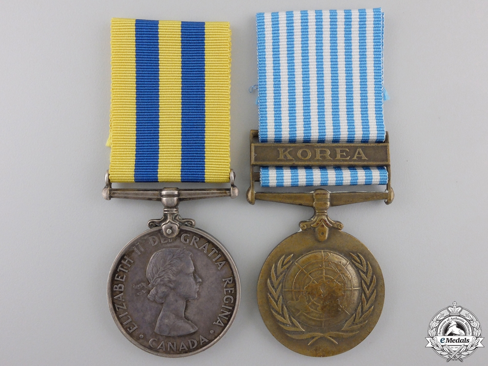 eMedals-A Korea War Pair to the Royal Canadian Artillery