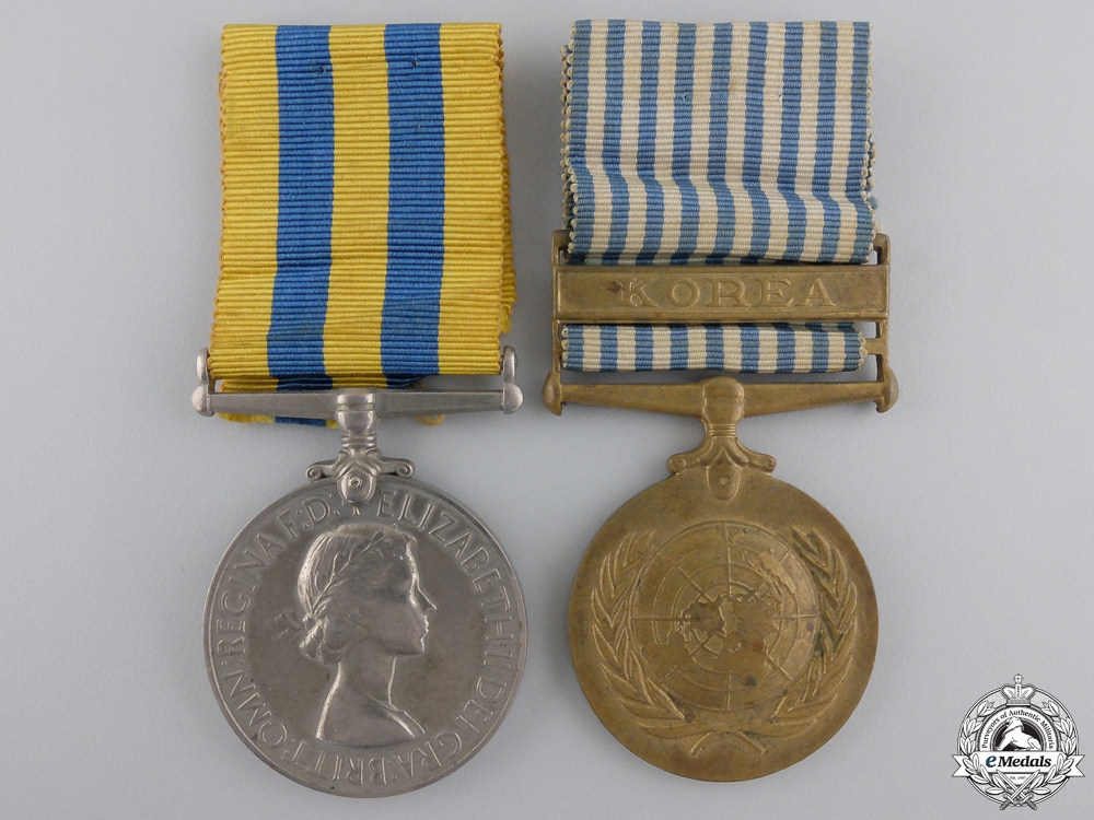 eMedals-A Korean War Pair to the Army Catering Corps
