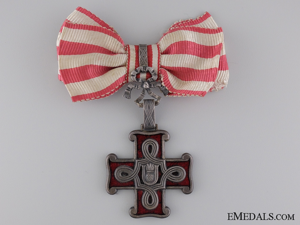 eMedals-A Ladies First Class Order of Merit; Christian Version