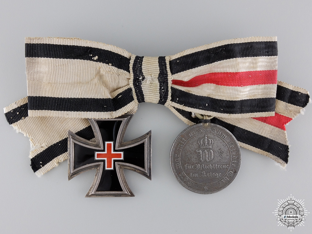 eMedals-A Ladies Franco-Prussian War Medal Pair