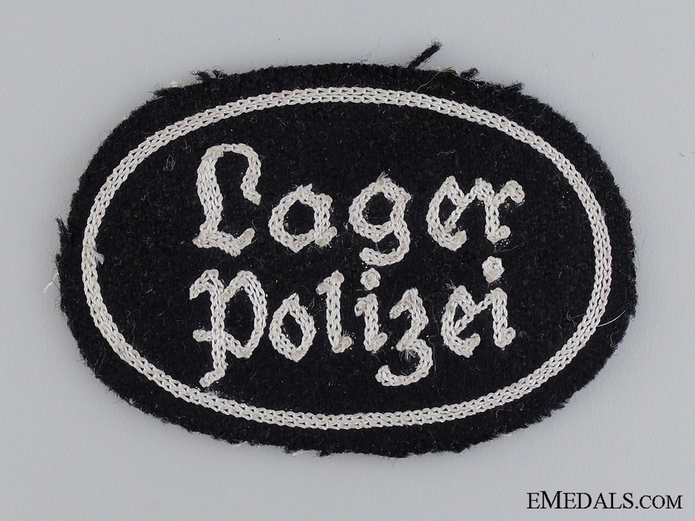 eMedals-A Lager Polizei Cloth Insignia