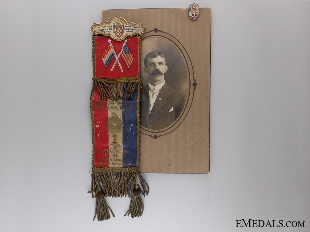 eMedals-A Lot of a Member of the National Croatian Society of the USA