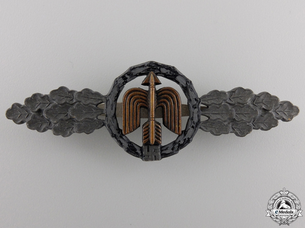 eMedals-A Luftwaffe Night Fighter Clasp by Steinhauer & Lück