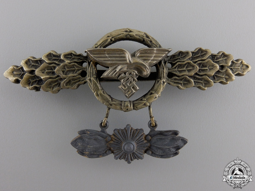 eMedals-A Luftwaffe Squadron Clasp for Transport Pilots with Star