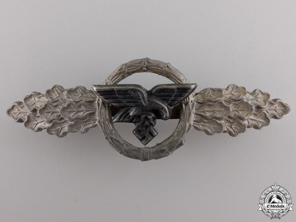 eMedals-A Luftwaffe Squadron Clasp for Transport Pilots; Gold Grade
